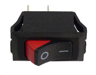 Lot Of 100 - Ac 250v 15a Red Spst Onoff Power Control Panel Boat Rocker Switch