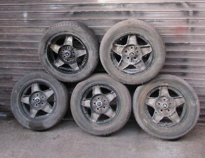 Volvo 283513 Rim ATS Alloy; Black and Silver P1800E 1800ES 142 144 145 164