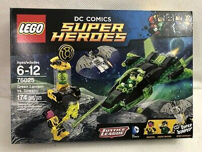 LEGO DC Comics Super Heroes 76025 Green Lantern vs. Sinestro Space Batman NISB