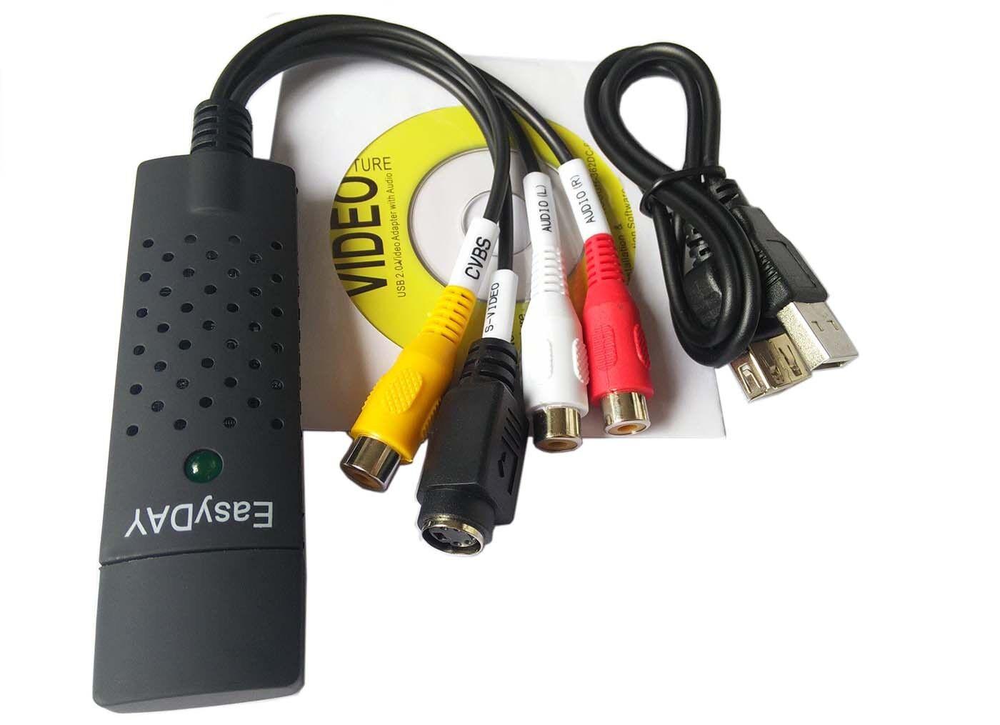 EasyCap DC60 USB Video Capture Card Adapter with ChipSet UTV