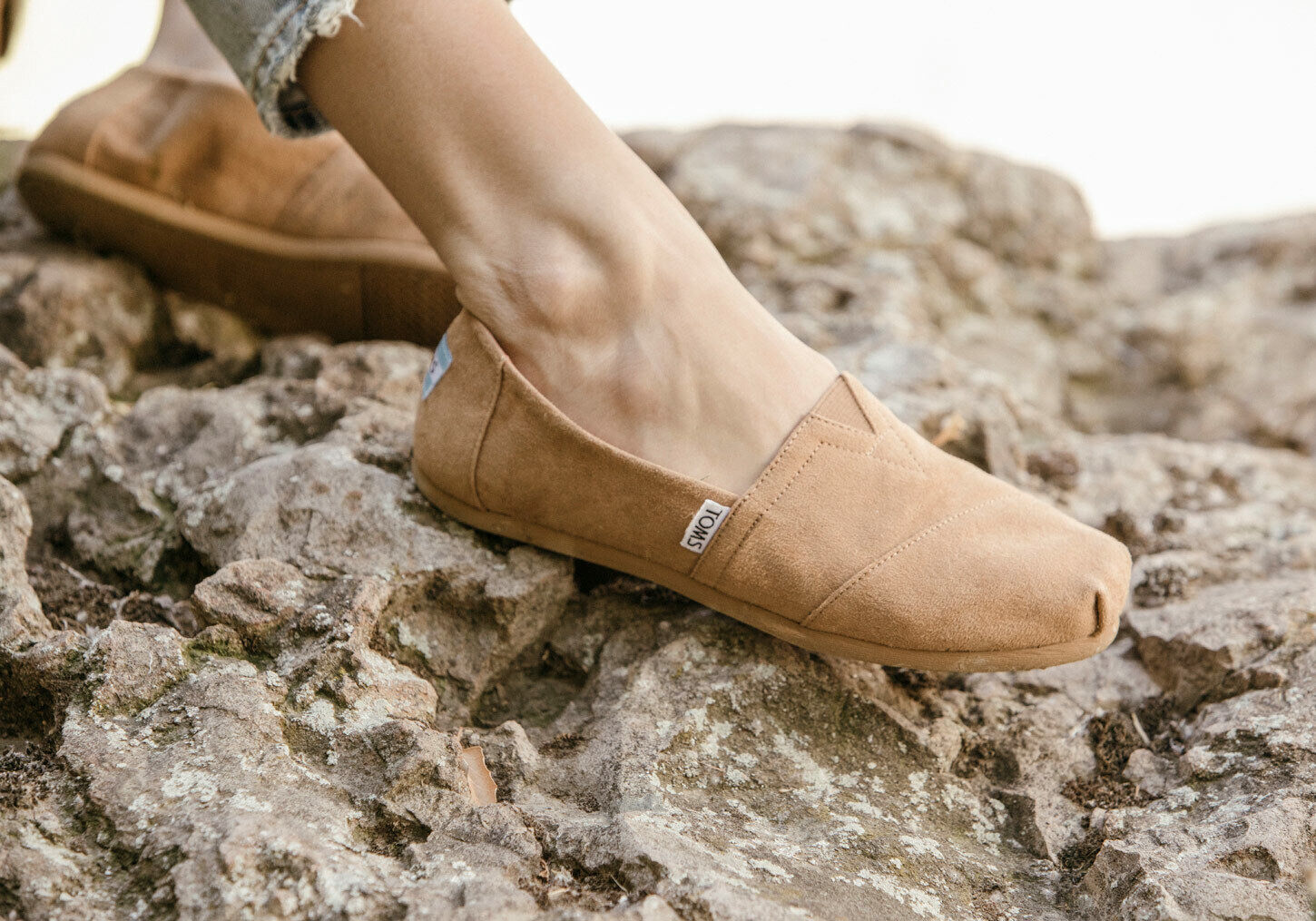 TOMS Toffee Suede Microfiber Women's Classic Shoes. Style: 10010799
