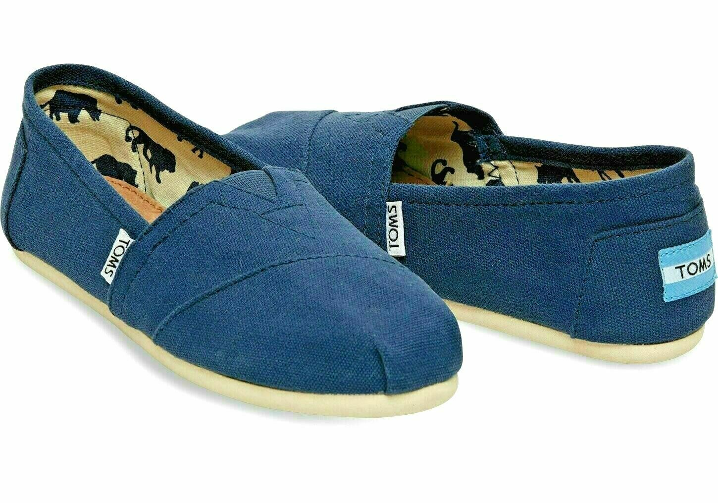 Toms Men's Classics Canvas Shoes Slip On Comfortable Original NEW WITHOUT BOX 1