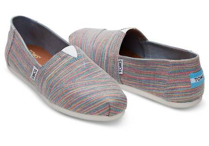 Blue Aster Space Dye Toms Shoes