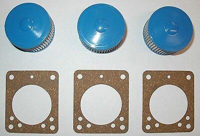 3 Strainer Kits Suntec Beckett Oil Burner Includes Gaskets A2va7116 A2ea6520