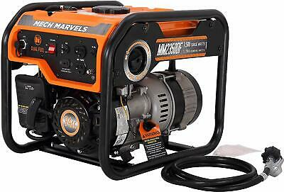 Mech Marvels 1500-watt Quiet Portable Hybrid Dual Fuel Gas Powered Generator