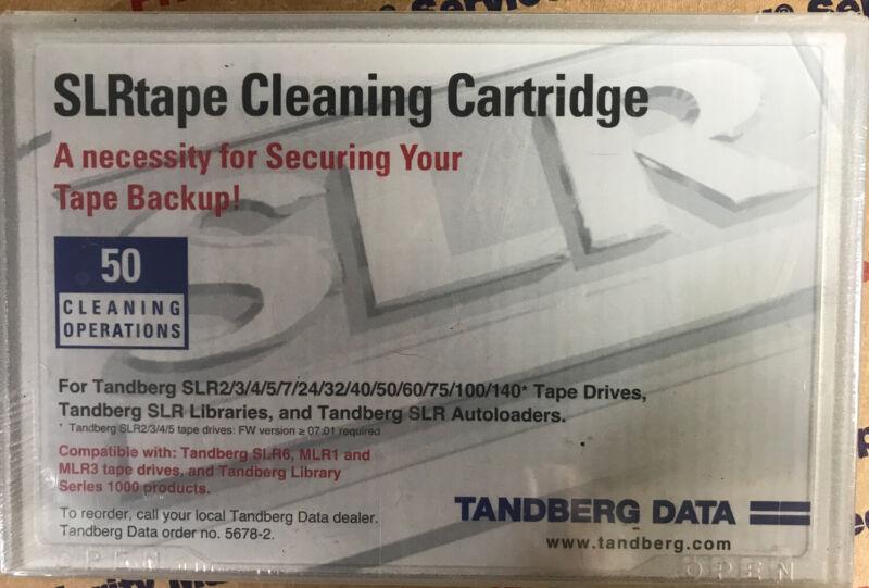 NEW Tandberg  MLR/SLR Dry SLRtape tape cleaning cartridge p/n 5678-2  Sealed
