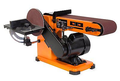 Wen 6500 4 X 36-inch Belt And 6-inch Disc Sander With Steel Base