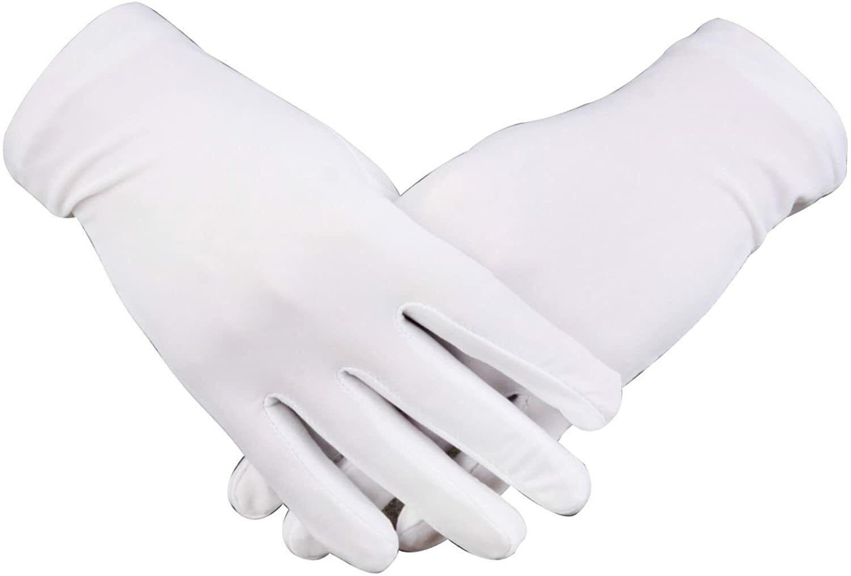 cotton gloves 12 pcs 6 pairs
