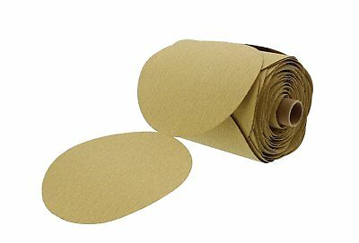 Premium Gold 6 Psa Sticky Back Sanding Discs Roll 220 Grit