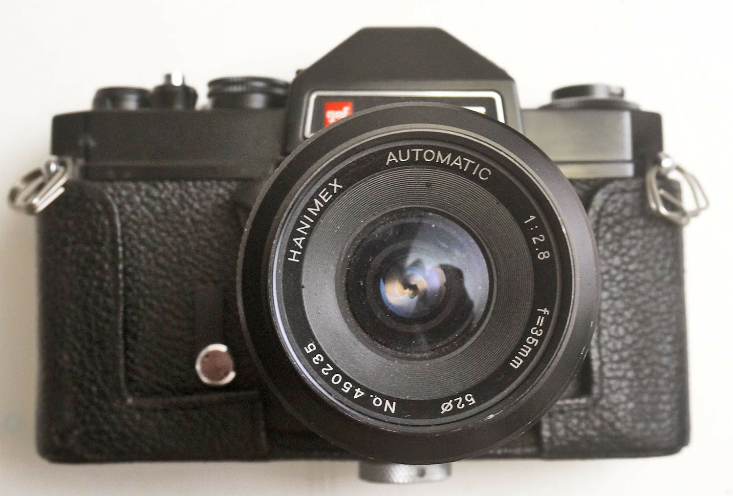 GAF L-CS 35mm SLR Camera With Hanimex 2.8/35 Lens TESTED WORKING - $95.00