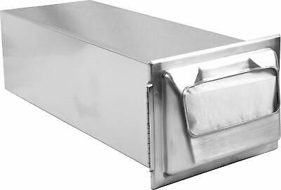 San Jamar H2000 Stainless Steel In-counter Minifold Napkin Dispenser