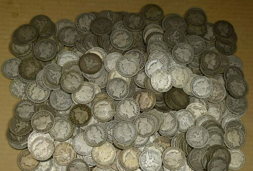 Roll of 20 Different Date / Mint Good - Very Good+ Barber Half Dollars