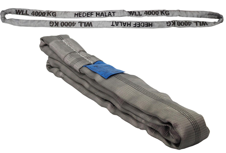 Hebeschlinge Rundschlinge Schlupf Hebeband 1 bis 10 Tonnen Schlinge 1 bis 12 Meter Umfang w/ählbar 10.000 kg // 6m Umfang