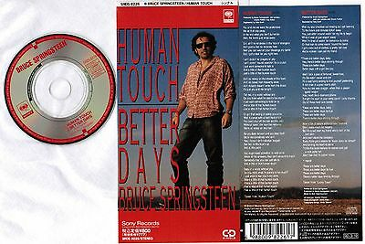 BRUCE SPRINGSTEEN Human Touch /Better Days JAPAN 3