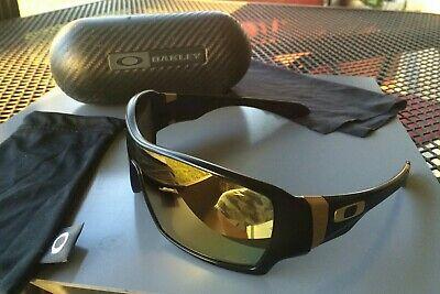 CUSTOM POLARIZED - Oakley Offshoot Shaun White - MATTE Black & Gold 24K Iridium (Offshoot Shaun White)
