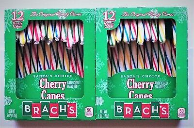es 'Cherry' Zuckerstangen 24 Stück = 340gr aus USA (Brach Candy)