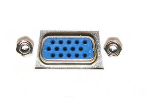 VGA + USB + 3 RCA + 3.5 JACK Sockets DOUBLE FACEPLATE + STUB FLY LEAD WALL PLATE