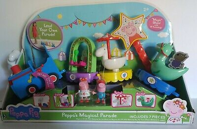 ⚡Peppa Pig Peppa's Magical Parade Train! Limited Edition! NEW PLAY SET!