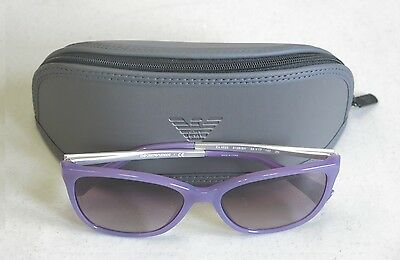 Emporio Armani Authentic Sunglasses  EA4025 51288H Light Purple Brown NEW! 32335