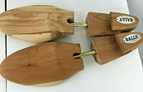 BALLY OF SWITZERLAND Wooden Shoe Trees Size Large/L