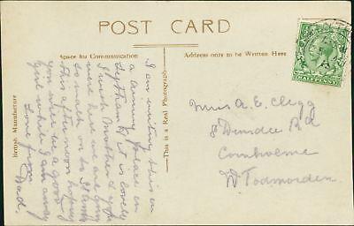 Annie Elizabeth Clegg. 8 Dundee Road, Cornholme, Todmorden. - Father  CB.421