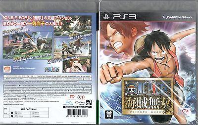 PS3 Spiel One Piece Kaizoku Musou Pirate Warriors 1 Japanisch Neu online kaufen