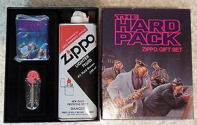 Joe Camel The Hard Pack Zippo Lighter Gift Pack 1992 New in Box