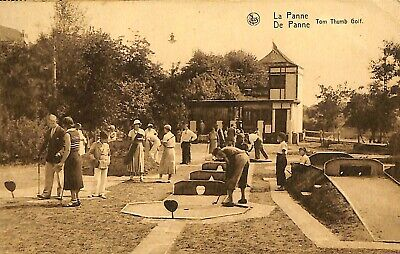 CPA - Belgique - De Panne - La Panne - Tom Thumb Golf