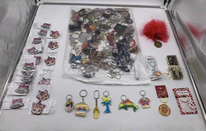 5.2 lbs Grab Bag Bulk Lot of Assorted Keychains