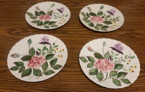 """Blue Ridge Southern Potteries """"June Bouquet"""" Luncheon Plate EUC"""
