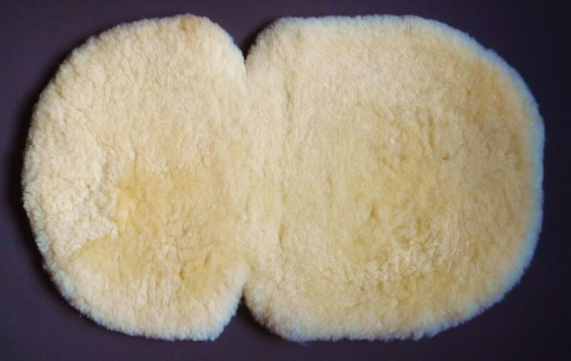 LAMBSKIN for Buggy Pushchair Pram Carseat Liner Mat 100% Natural -Eco-Friendly