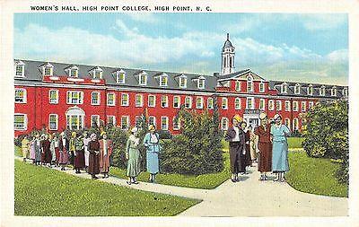 High Point  North Carolina Antique Postcard  T761