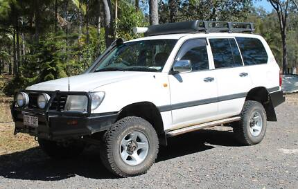 2002 Toyota LandCruiser Wagon GXL Turbo Diesel Captain Creek Gladstone Area Preview