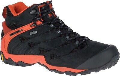 Men's Merrell Hiking Shoe, Chameleon 7 Black and Red, Size 15 (#J18491)