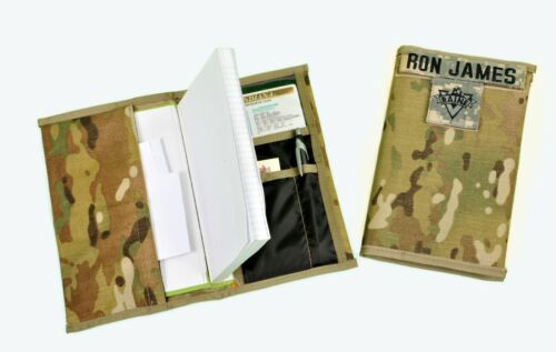 Military Green Log Book Cover Leader Book