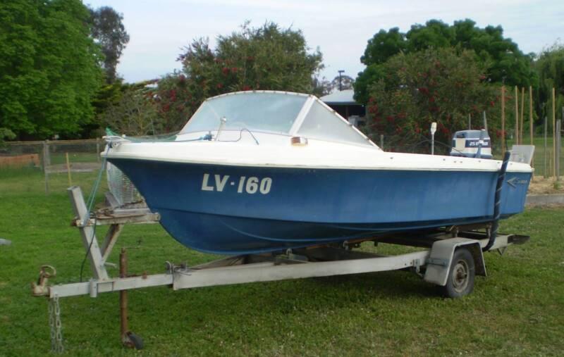 14 ft Fibreglass Savage Avalon fishing boat | Other Boats & Jet
