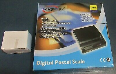Weighmax Digital Postal Scale Electronic Battery Letter Package Usps 50 Lb G Oz