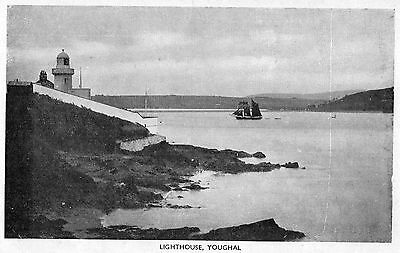 LIGHTHOUSE YOUGHAL CORK IRELAND IRISH POSTCARD by PHIL HOGAN of YOUGHAL