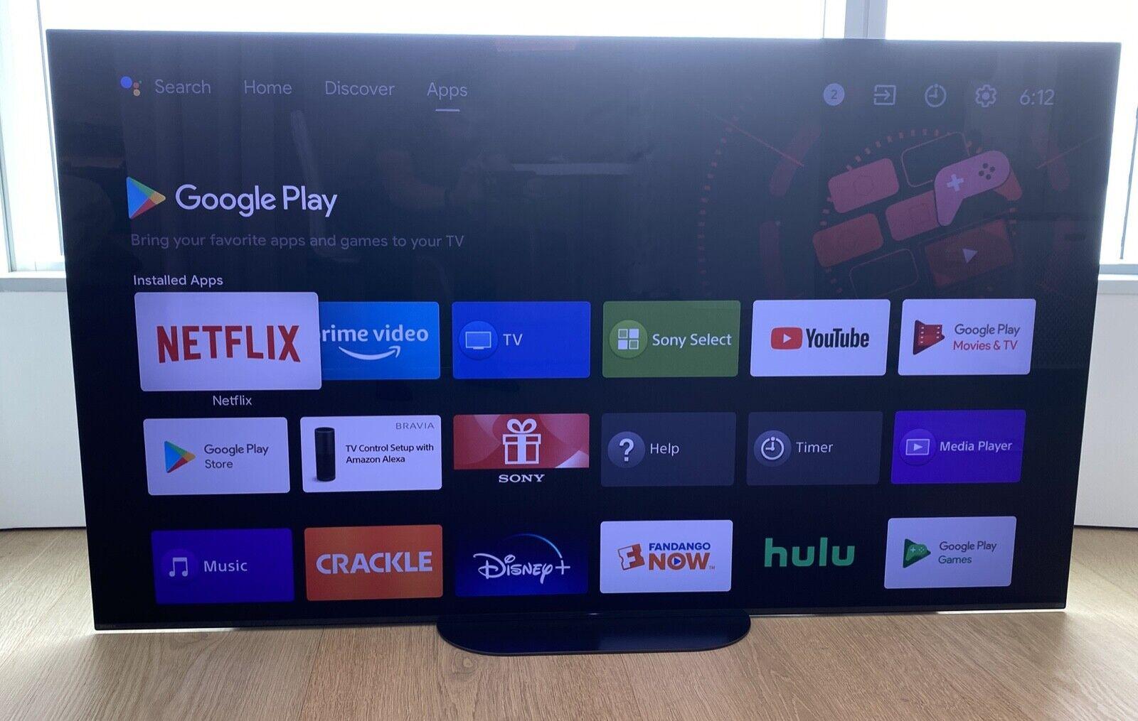 "Sony XBR-65A9G 65"" Master Series BRAVIA OLED 4K UHD Smart TV"