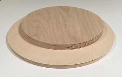44,38€/m² Birke Multiplex 18mm Runde Holzplatte Tischplatte Sperrholz Scheibe