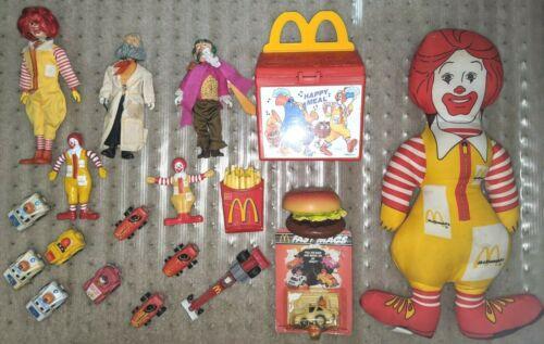 Vintage Lot of Mcdonalds Toys