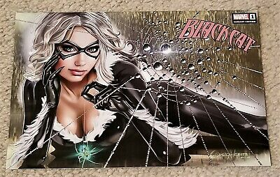 BLACK CAT 1 GREG HORN EXCL HORIZONTAL VARIANT SPIDER-MAN VERY SEXY NEW -