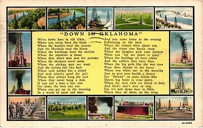 GP GOLDPATH: US POST CARD 1937, ELK CITY, OK. _CV684_P07