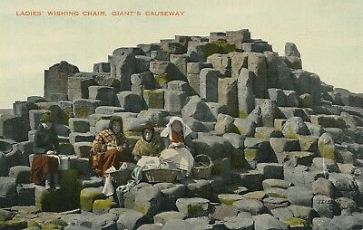 Antrim   Giants Causeway Ladies Wishing Chair   Northern Ireland