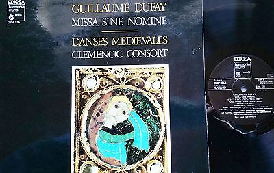 DUFAY Missa Sine Nomine Clemensic Consort LP Harmonia Mundi EDIGSA EHM 939 NM