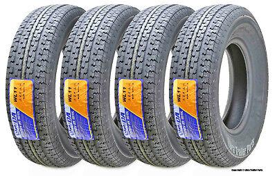 Set 4 Premium WINDA Trailer Tires ST205/75R14 8PR Load Range D Steel Belted