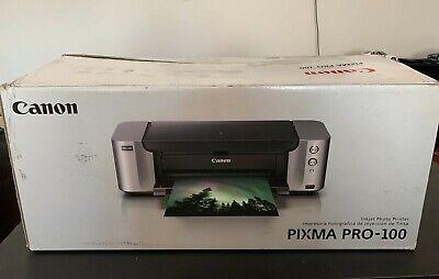 Canon PIXMA PRO-100 Digital Photo Inkjet Printer NO PRINT HEAD, NO INK