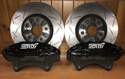 WRX STi 2015 Front Brakes