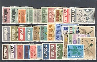 1965 EUROPA CEPT complete year set MNH