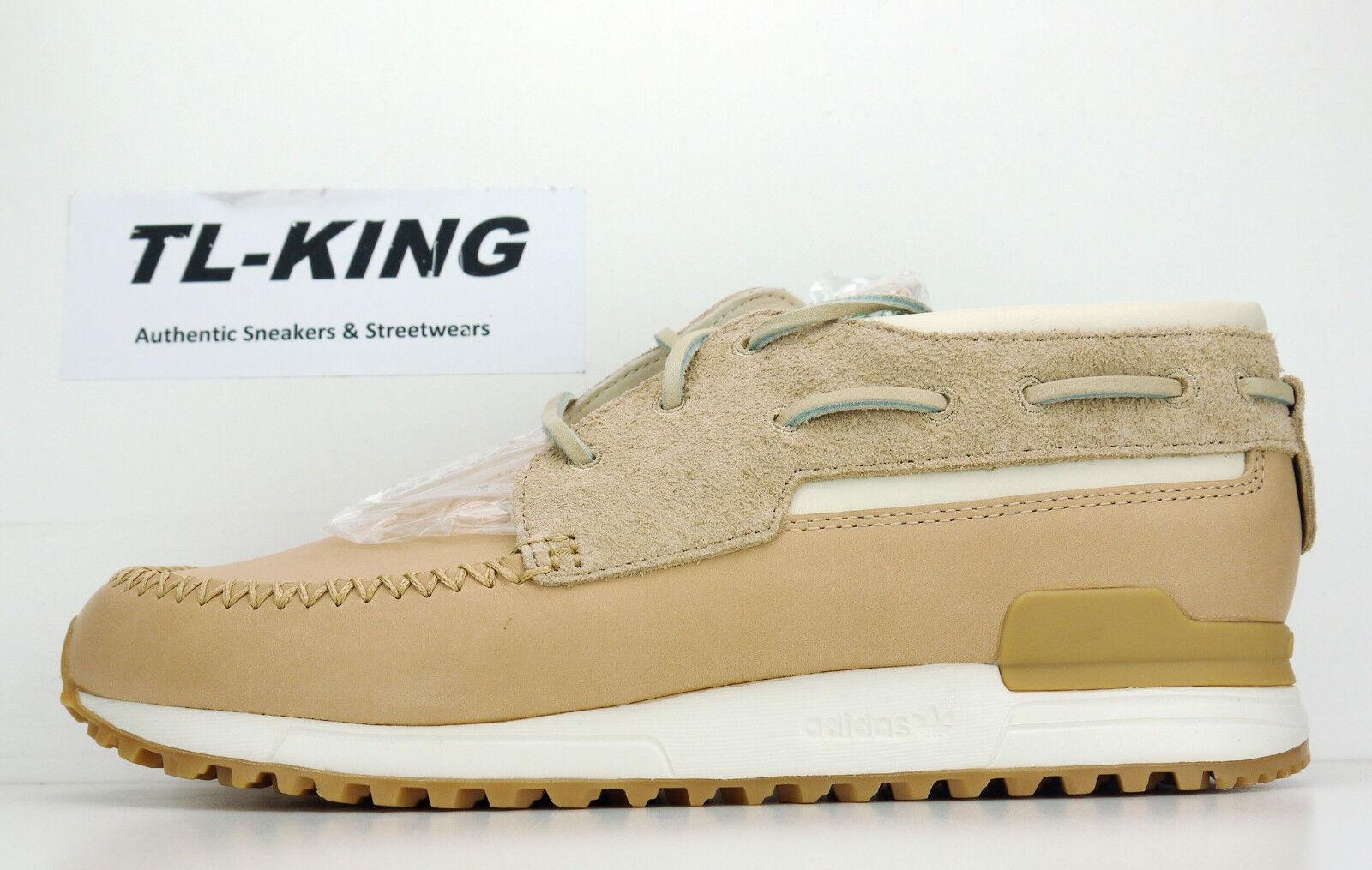Adidas Consortium x END Clothing ZX 700 Boat Tan Chalk White Gum B39341 GC